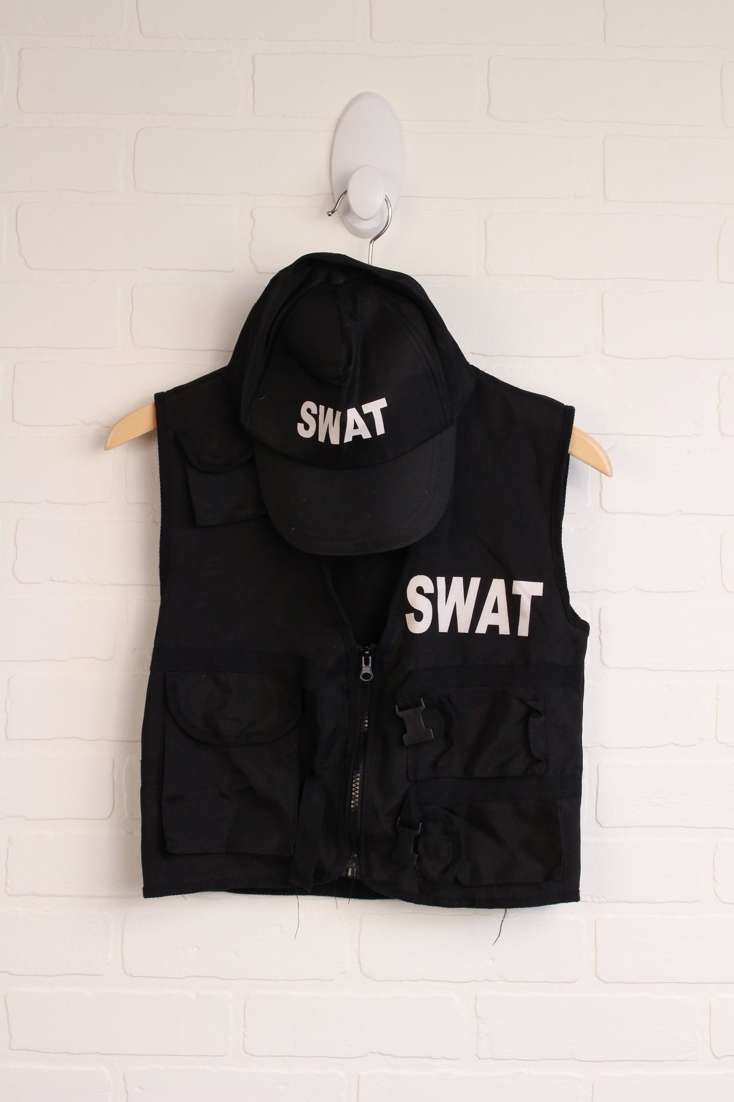 Black SWAT Costume (Size 8-10)