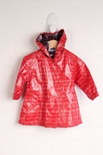 Tommy Hilfiger Crimson Hooded Raincoat (Size 6-12M)