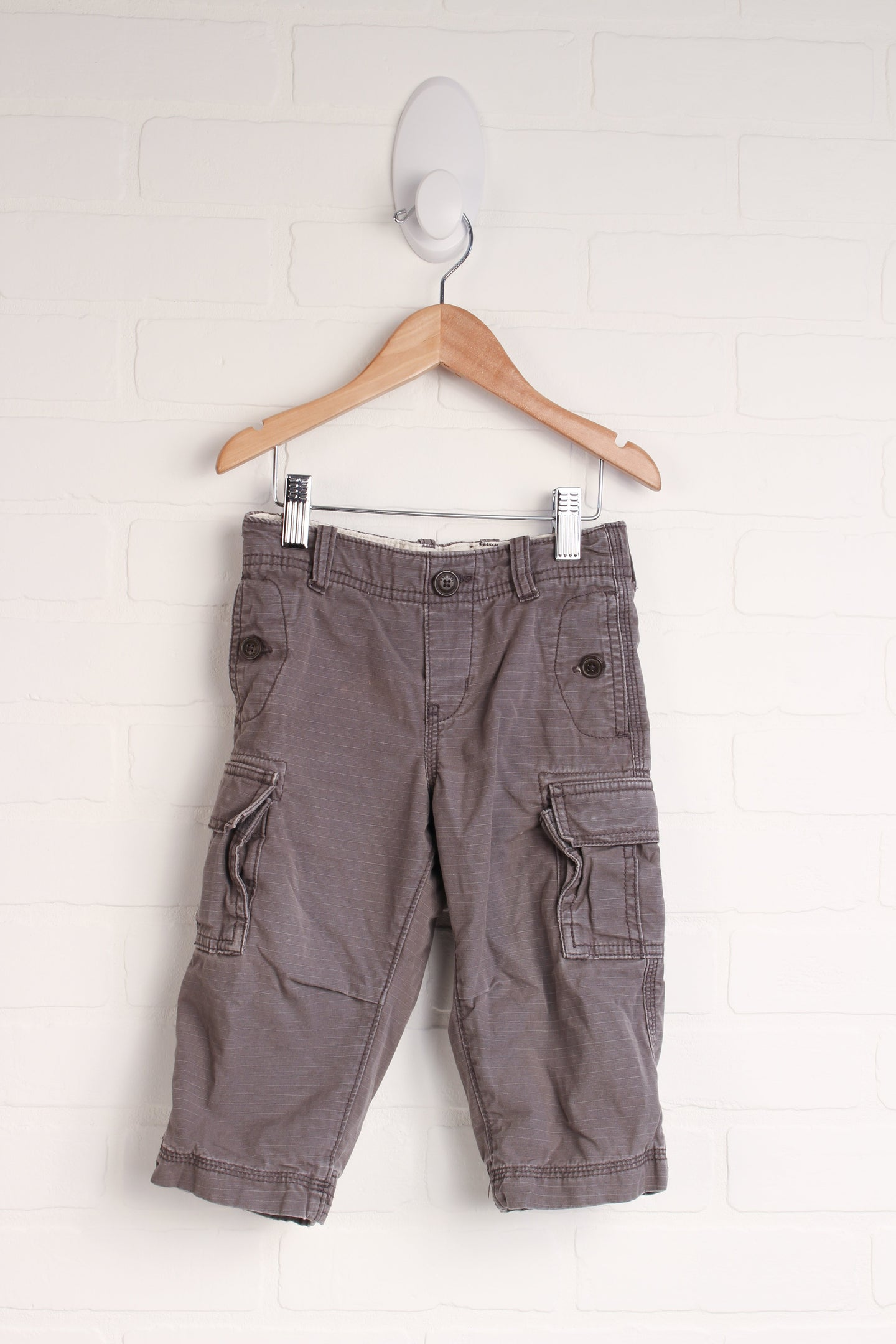 Putty Jersey Lined Cargo Pants (Size 18-24M)