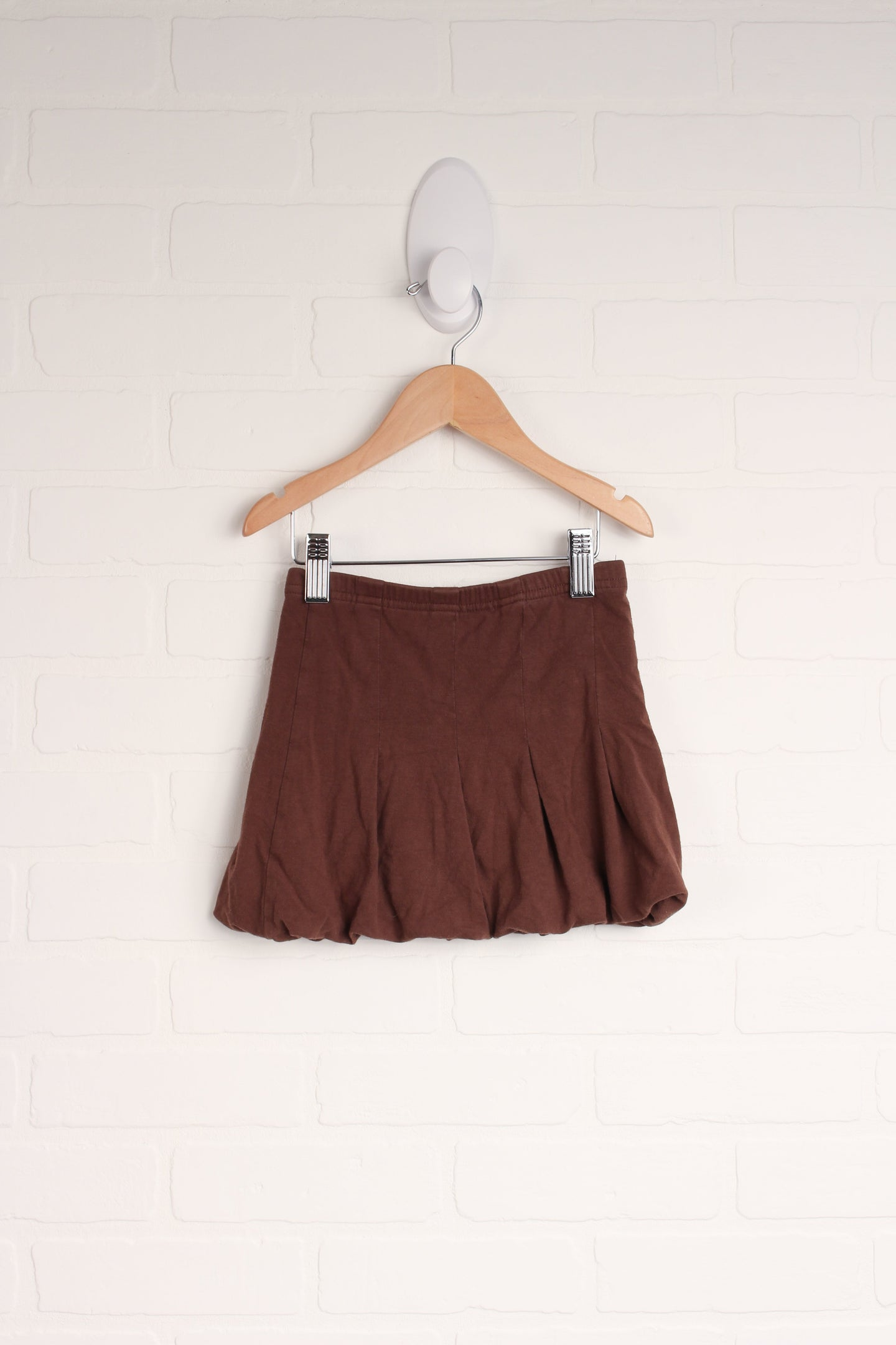 Brown Bubble Skirt (Size S/4)
