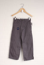 NWT Gray Straight Fit Pants (Size 6)