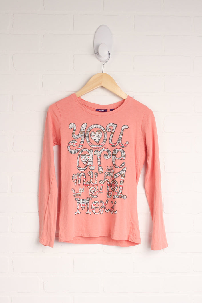 Coral Graphic T-Shirt (Size L/7-8)