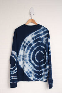 Navy Graphic Sweatshirt (Men's Size L)