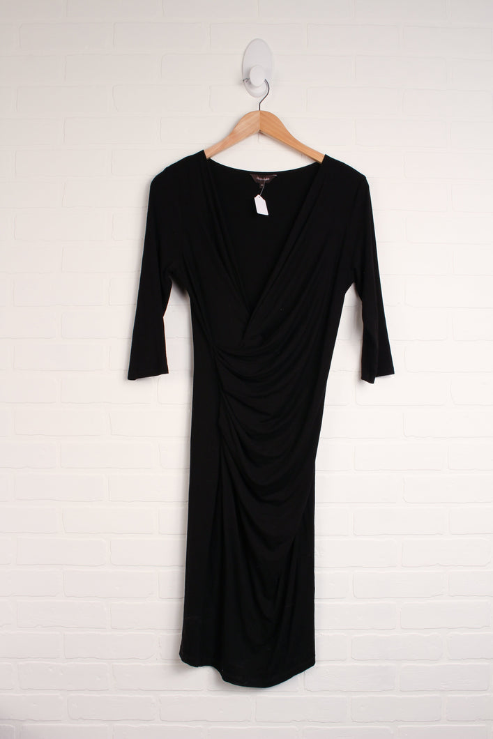 Black Maternity Dress (Maternity Size 10)
