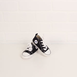Black Soft-Soled Converse (Little Kids Shoe Size 4)