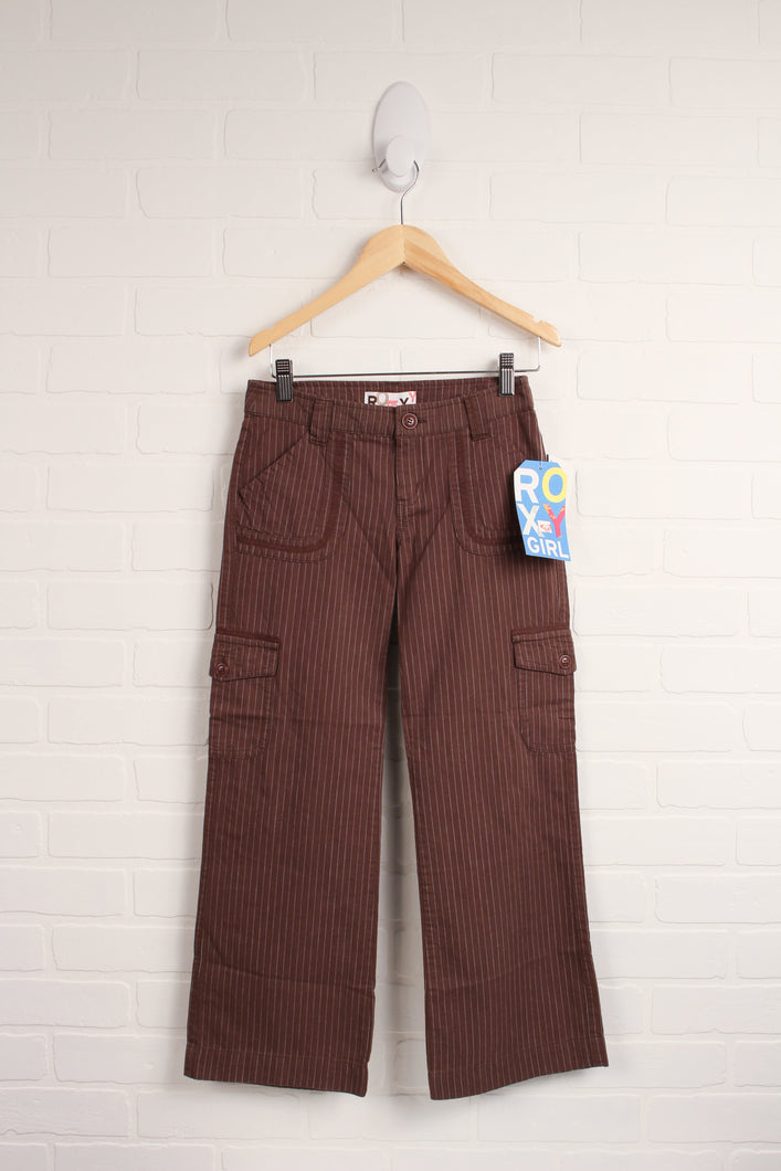 NWT Brown Wide-Leg Pants (Size 8)