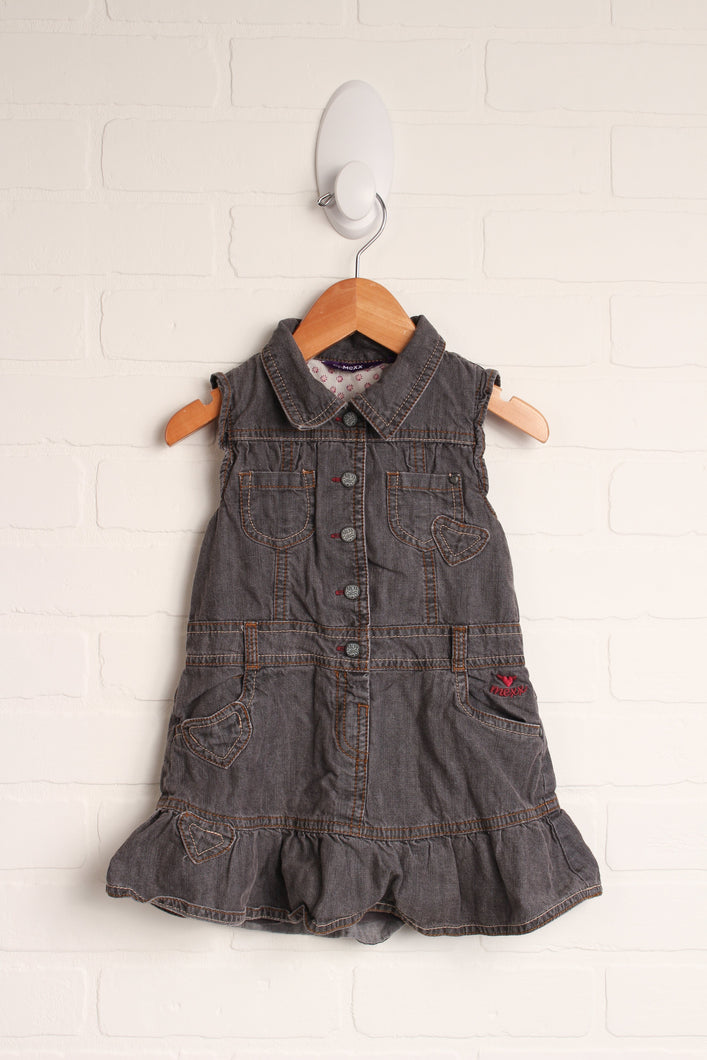 Putty Denim Dress (Size 86/18-24M)