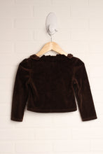 Brown Velour Shrug (Size 4)