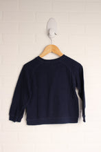 Navy Thermal Raglan (Size 4T)