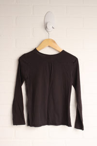 Brown Graphic Top (Size 5-6)