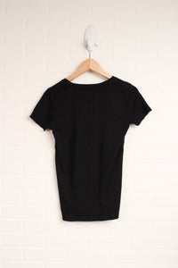 "Black ""The Favourite V-Neck"" (Women's Size M)"