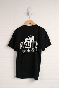 Black Graphic T-Shirt (Men's Size S)
