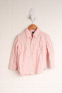 Linen Blend Button-Down (Size 3)