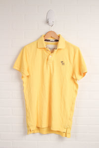 "Yellow ""Muscle Fit"" Polo (Men's Size M)"