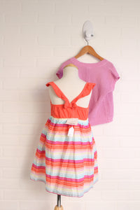 OUTFIT: Coral Summer Set (Size 3T) 2 Pieces