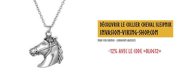Collier Cheval Viking