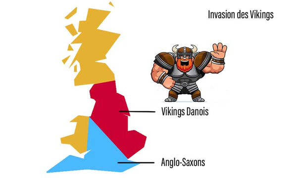 Invasion Viking de l'Angleterre