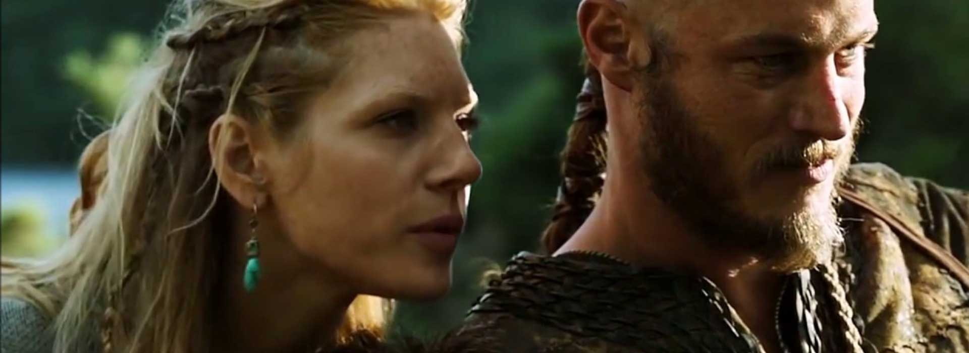 Lagertha et Ragnar couple