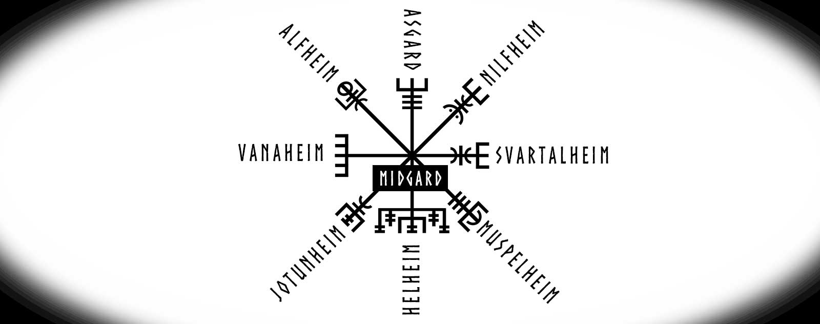 Signification 8 branches vegvisir