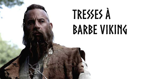 Tresses à Barbe Viking