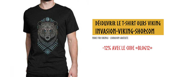 T-shirt Viking Ours
