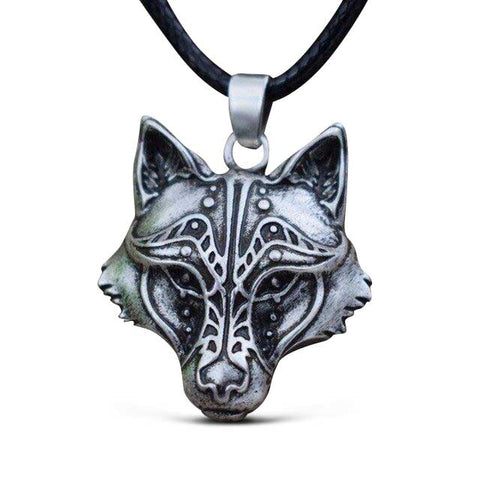 Collier Loup Majestueux