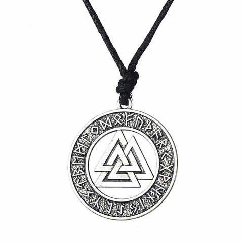 Collier Viking Valknut