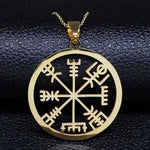 Collier Viking Vegvisir or