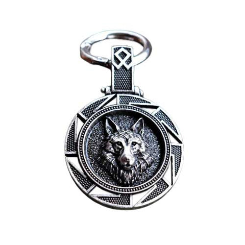 Porte-clé Viking <br> Loup Tribal