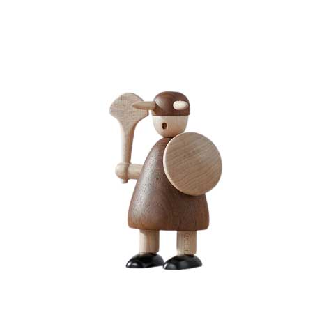 Statuette Viking Barbare