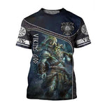 T-shirt Viking Dieu Nordique