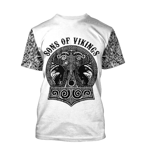 T-shirt Viking Mjollnir