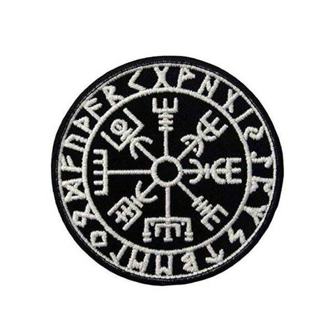 Badge Viking Vegvisir