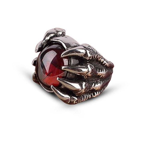 Bague Viking Griffes de Dragon