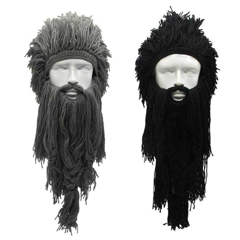barbe viking deguisement