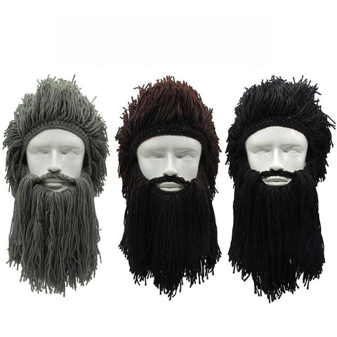barbe viking perruque