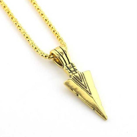 Chaine Viking La Lance Gungnir en Or
