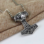 Collier Du Marteau De Thor </br> La Force Viking