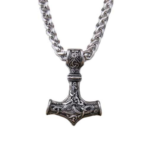 collier viking mjolnir