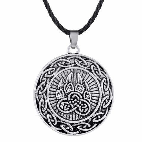 Collier Viking patte d'ours