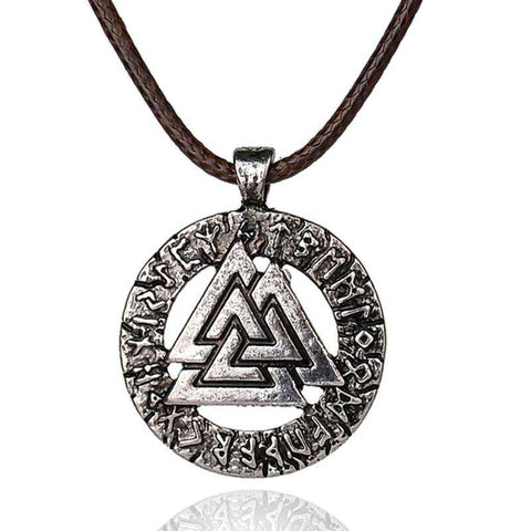 Collier Viking Rune Valknut
