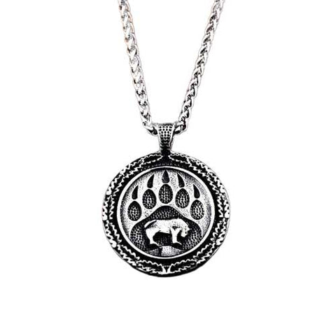 pendentif ours viking