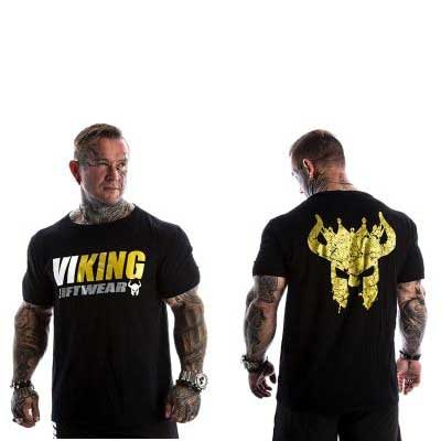 t shirt viking musculation roi