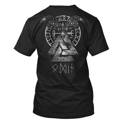 t-shirt runes viking