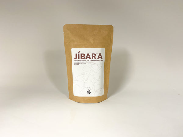 Jibara 60% Cacao Dark Chocolate Bars 3x30mg 90mg Total THC