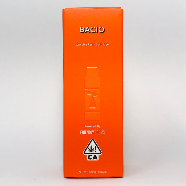 Sherbinskis Bacio Gelato Live Resin Cartridge .5g