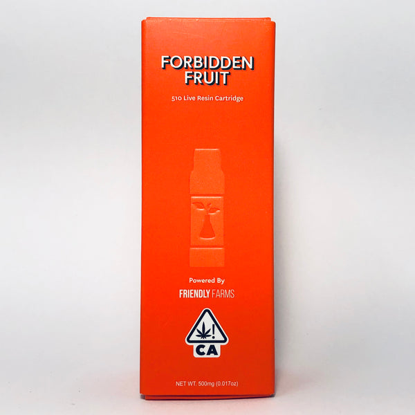 Sherbinskis Forbidden Fruit Live Resin Cartridge .5g
