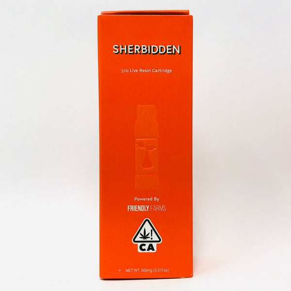 Sherbinskis Sherbidden Live Resin Cartridge .5g