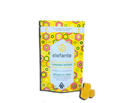 Elefante Quik-Pak Pineapple-Strawberry Gummies 10x10mg 100mg Total THC