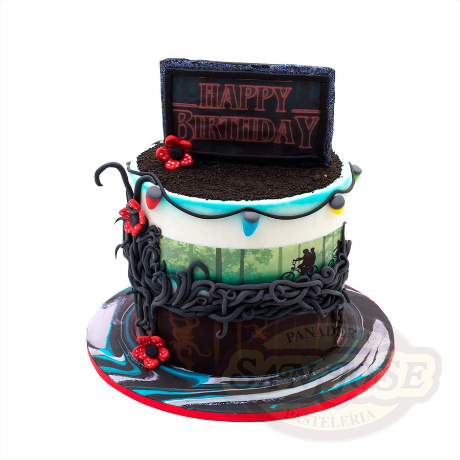 Stranger Things Fondant